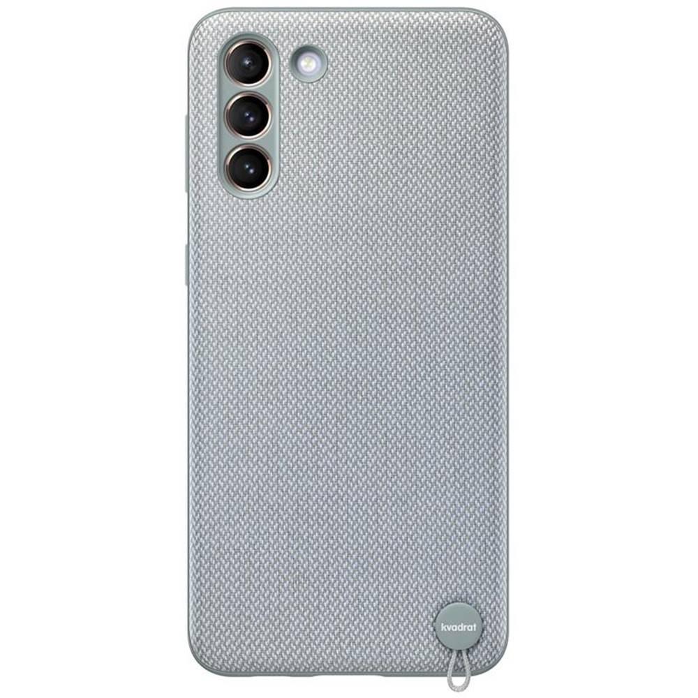 Samsung Kryt na mobil Samsung Kvadrat na Galaxy S21+ 5G sivý