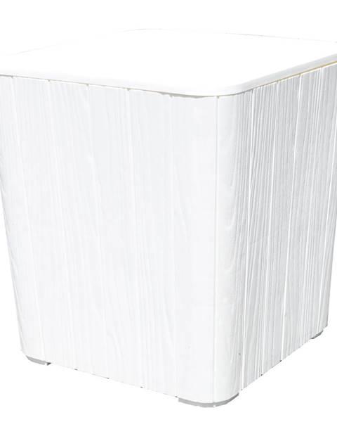 Biely úložný box Tempo Kondela