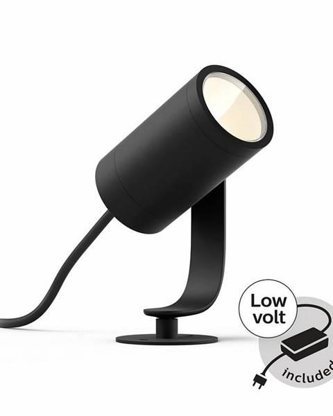 Čierna lampa Philips