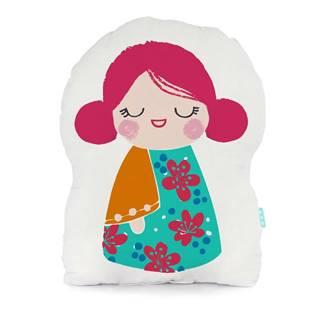 Bavlnený vankúšik Moshi Moshi Cherry Blossom, 40×30cm