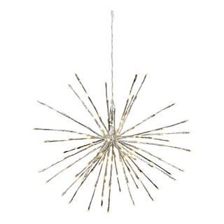 Svietiaca LED dekorácia vhodná do exteriéru Best Season Firework, Ø60 cm