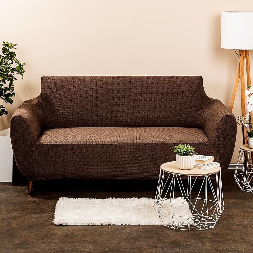 Banquet 4Home Multielastický poťah na sedačku Comfort Plus hnedá, 140 - 180 cm, 140 - 180 cm