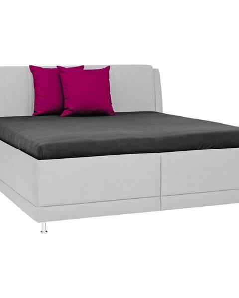 Sivá posteľ Novel