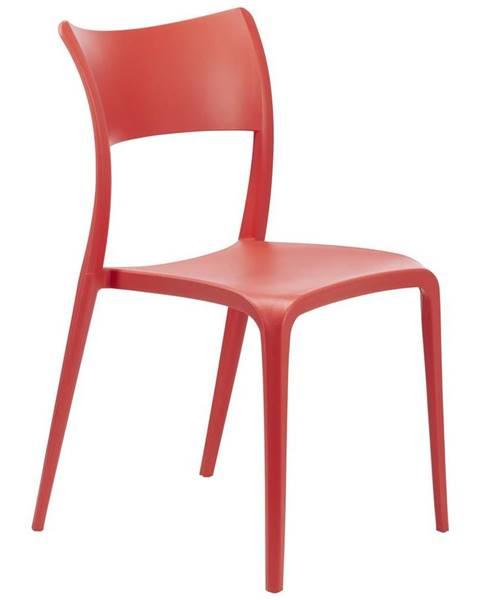 Červené kreslo Möbelix