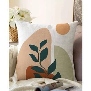 Obliečka na vankúš s prímesou bavlny Minimalist Cushion Covers Twiggy, 55 x 55 cm