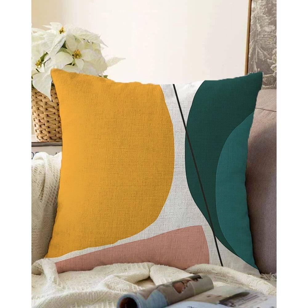Minimalist Cushion Covers Obliečka na vankúš s prímesou bavlny Minimalist Cushion Covers Artistry, 55 x 55 cm