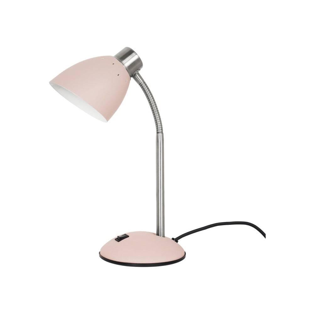 Leitmotiv Ružová stolová lampa Leitmotiv Dorm