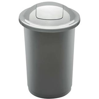 Aldo Odpadkový kôš na triedený odpad Top Bin 50 l, strieborná