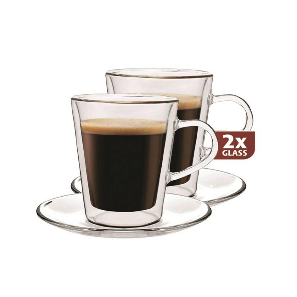 Maxxo Maxxo Lungo 2dílná sada termo skleniček, 220 ml