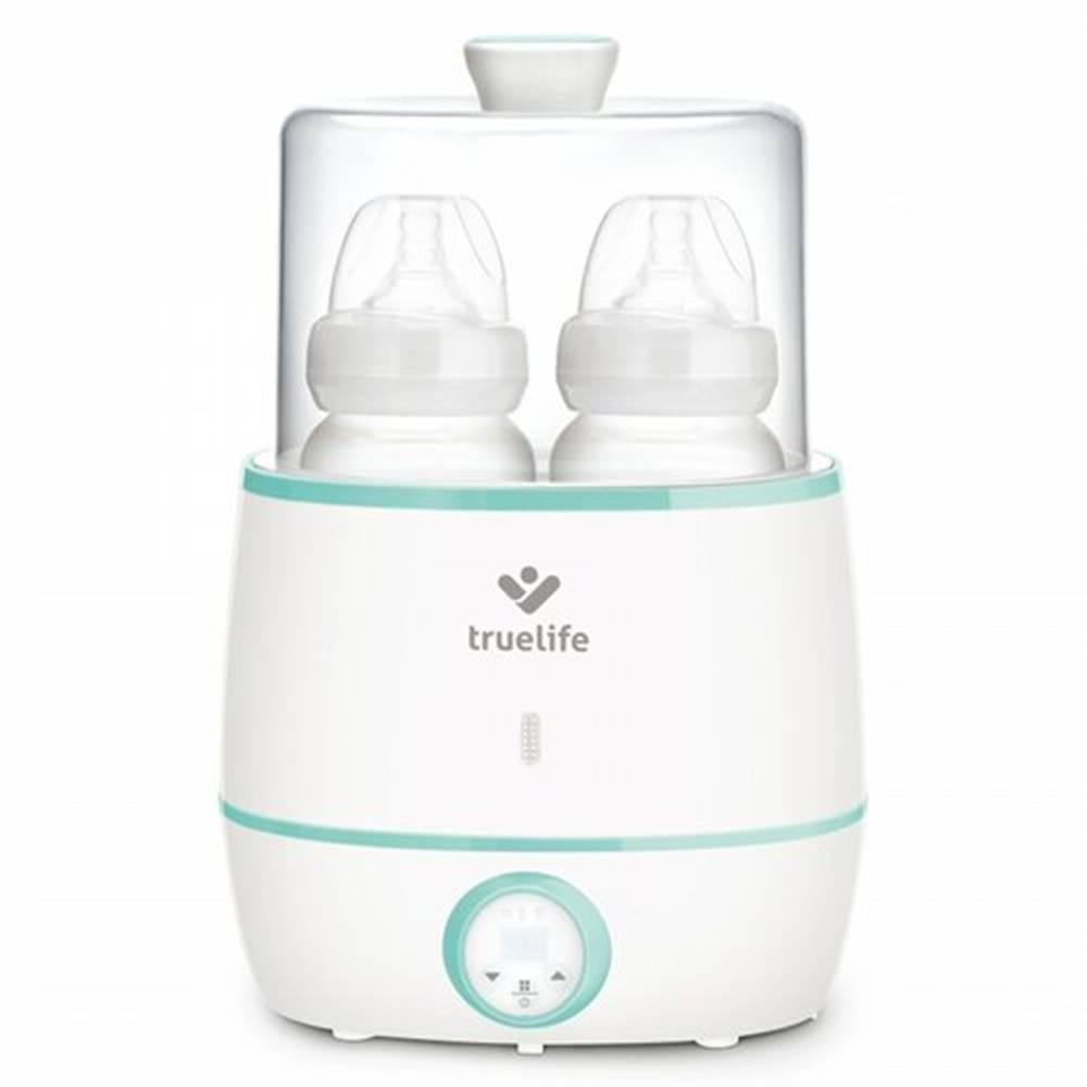 Happy Green Ohrievačka dojčenských flašiek TrueLife Invio BW Double biely/zelený