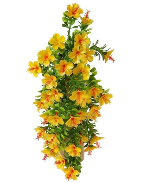 Oranžová váza Domarex