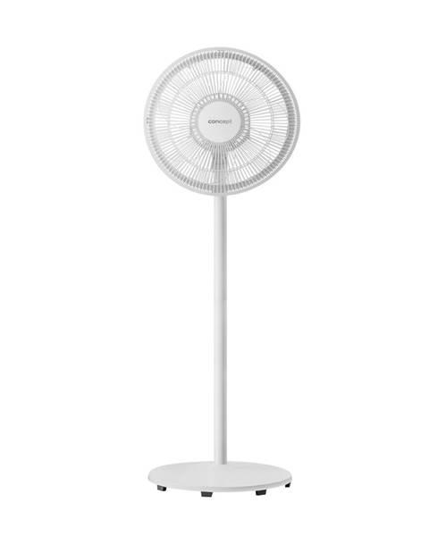 Biely ventilátor Concept