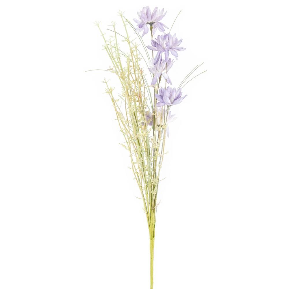 Gardinia Umele lúčne kvetiny 50 cm, fialová