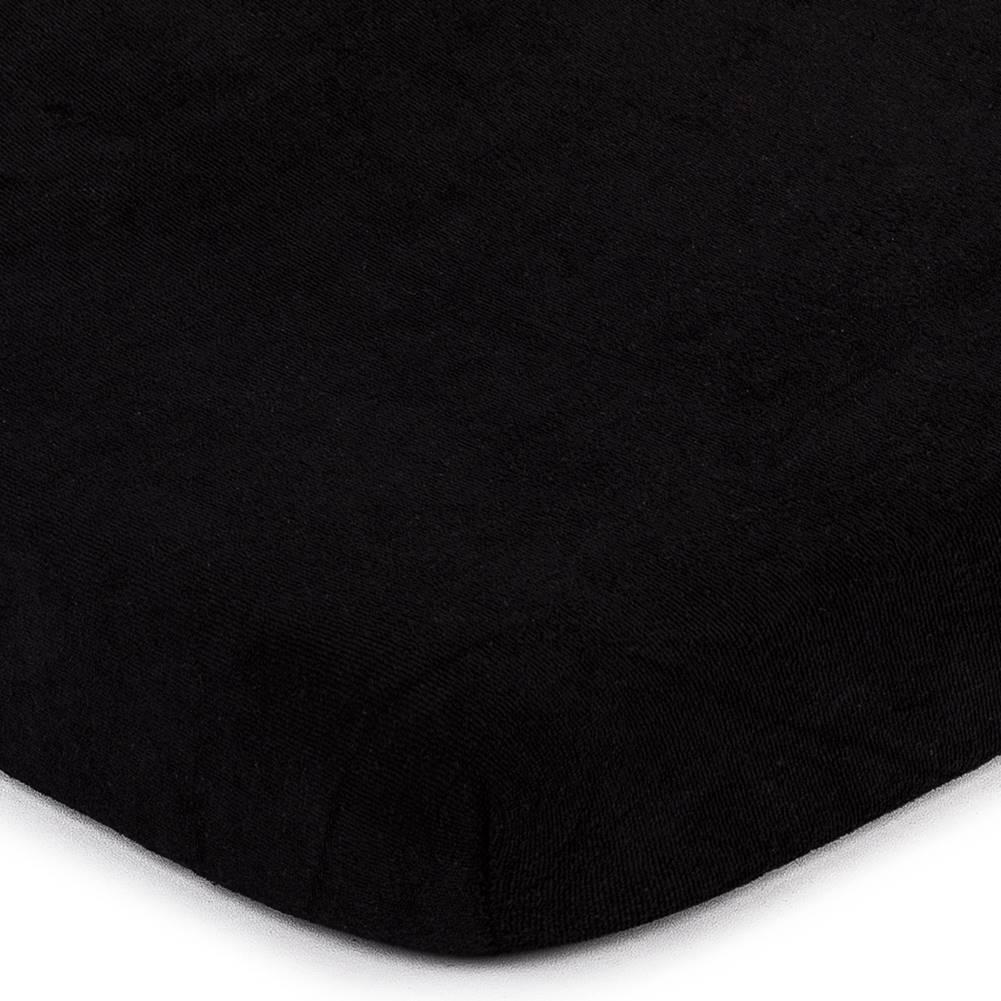 4Home 4home froté prestieradlo čierna, 180 x 200 cm