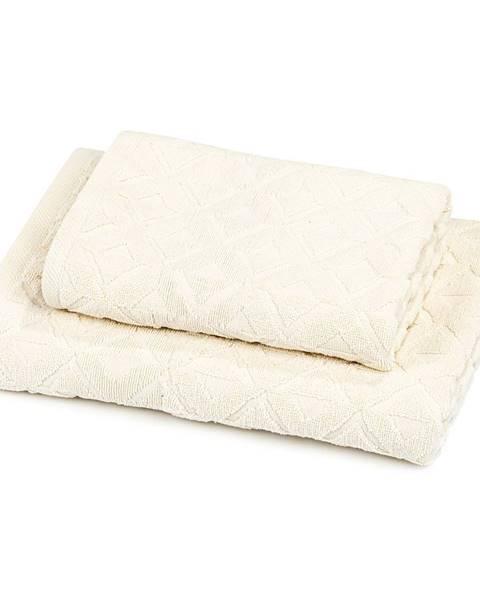 Béžový uterák Kvalitex