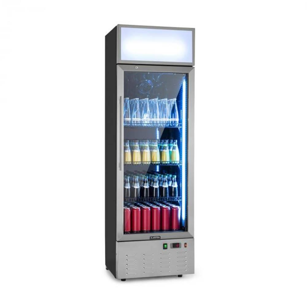 Klarstein Klarstein Berghain, chladnička na nápoje, 188 l, RGB vnútorné osvetlenie, 162 W, ušľachtilá oceľ