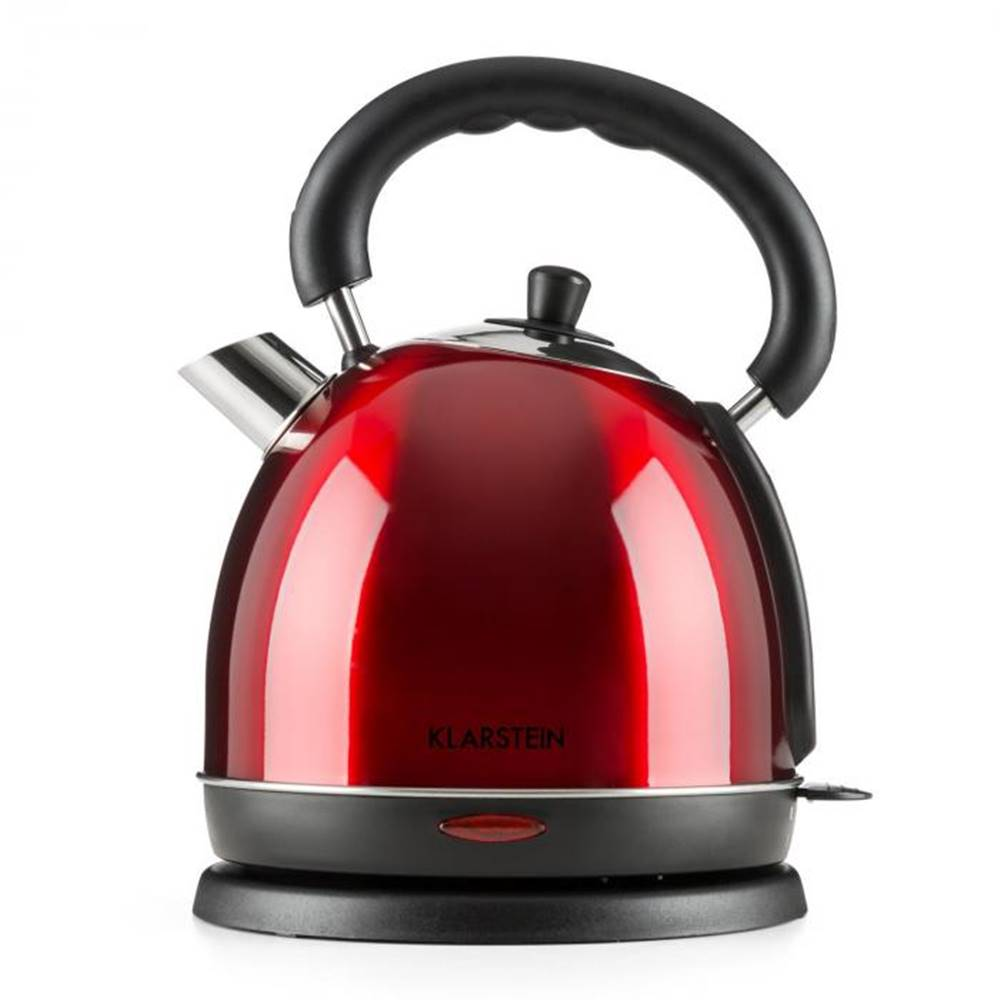 Klarstein Klarstein Teatime varič na vodu čajová kanvica 1850-2200 W 1,8 l ušľachtilá oceľ rubínovo červená