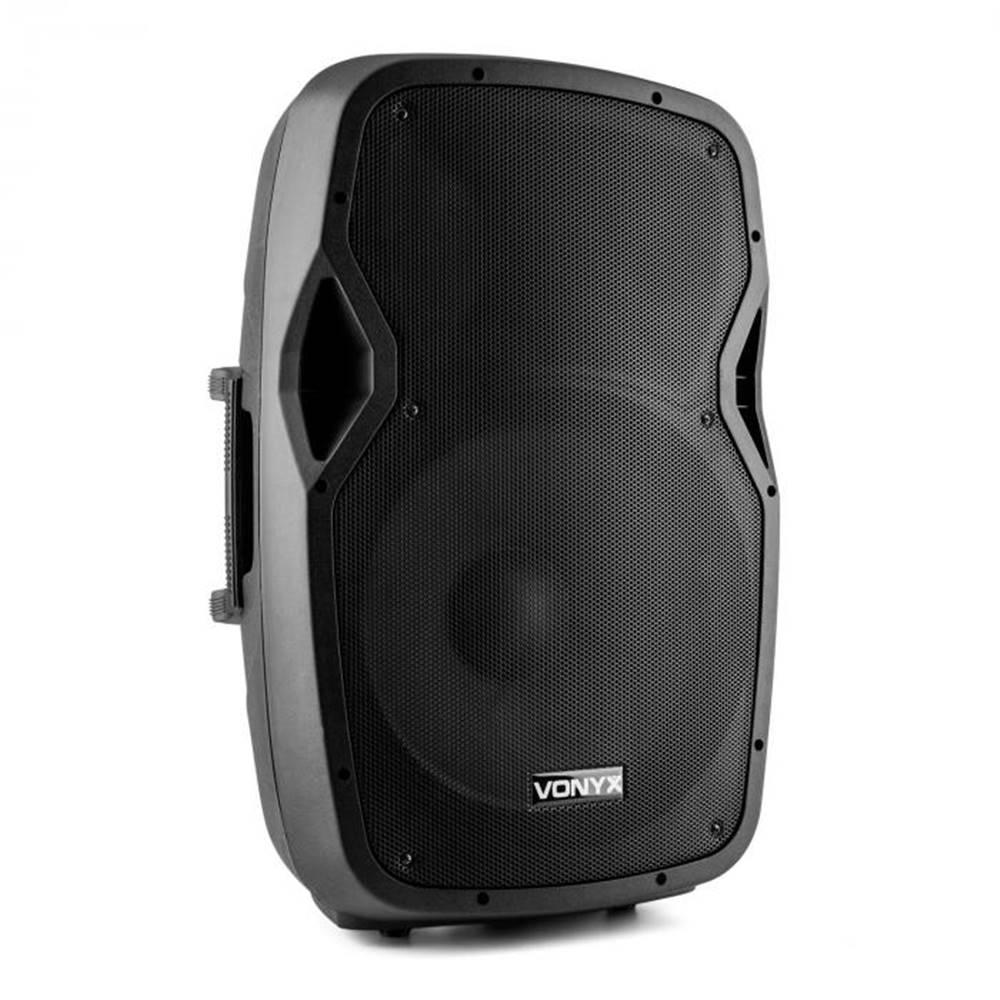 "Vonyx Vonyx AP1500ABT MP3, hi-end aktívny reproduktor, 600 W, 15"", bluetooth, MIC-IN,"