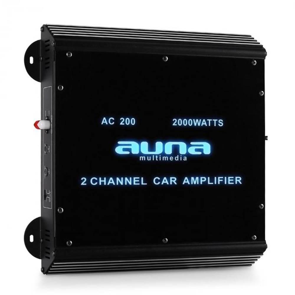 Auna Auna W2-Ac200, 2-kanálový zosilňovač do auta, 2000W
