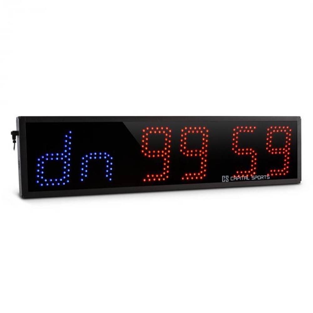 Capital Sports Capital Sports Timeter, športové digitálne hodiny, časomer, stopky, 6 číslic, signálny tón