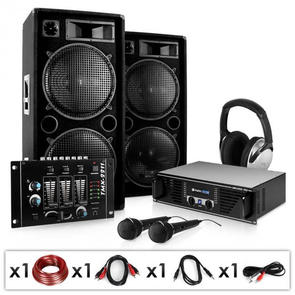 Electronic-Star Electronic-Star Block-Party, PA systém, set, zosilňovač, reproduktory, mikrofón a mixážny pult