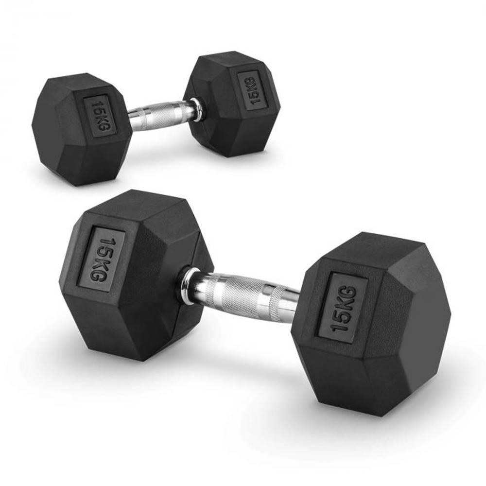 Capital Sports Capital Sports Hexbell 15, 15kg, dvojica krátkoručných činiek (dumbbell)