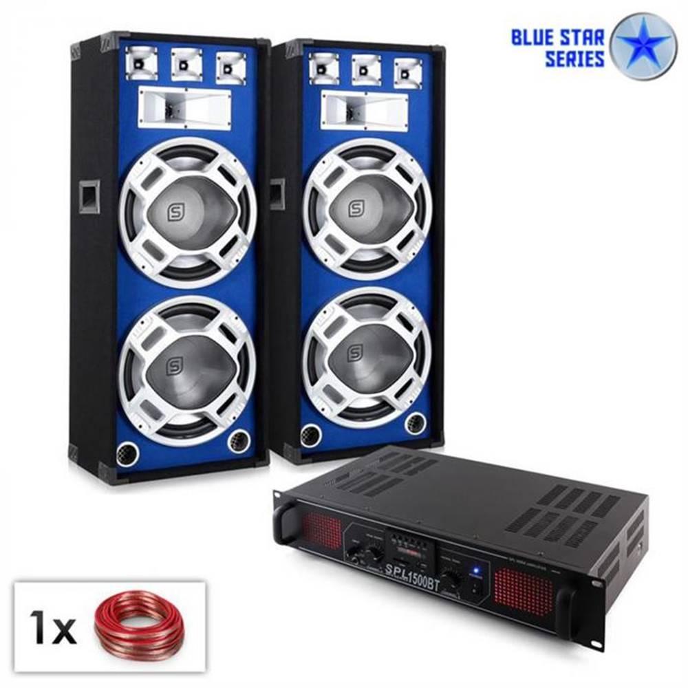 "Electronic-Star Electronic-Star PA Set Blue Star Series ""Beatsound Bluetooth MP3"", 1500 W"