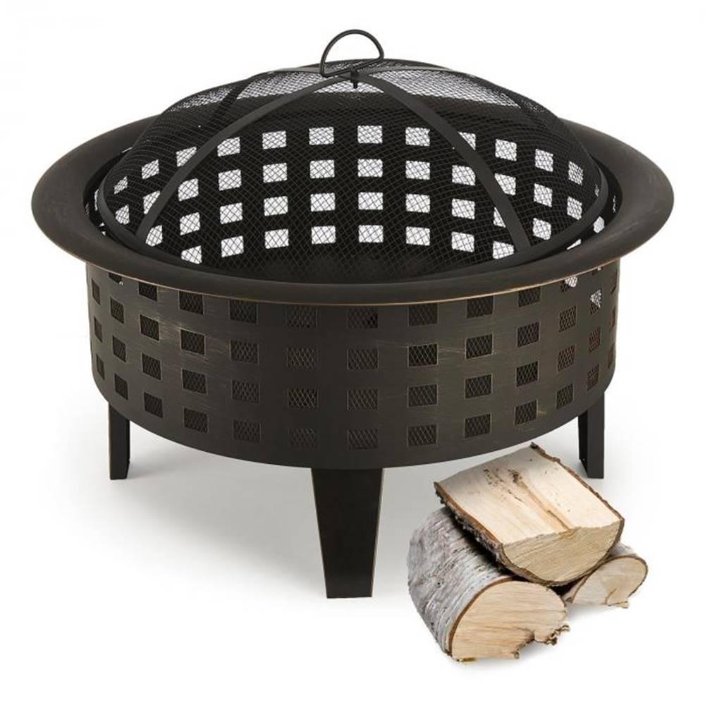 Blumfeldt Blumfeldt Boston, ohnisko, nádoba na oheň, Ø 70 cm, oceľ, čiernené