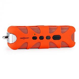OneConcept Orange Know, bluetooth reproduktor, AUX, akum.