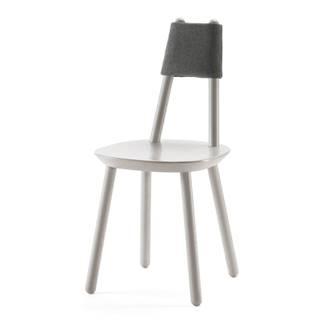 Sivá stolička z masívu EMKO Naïve