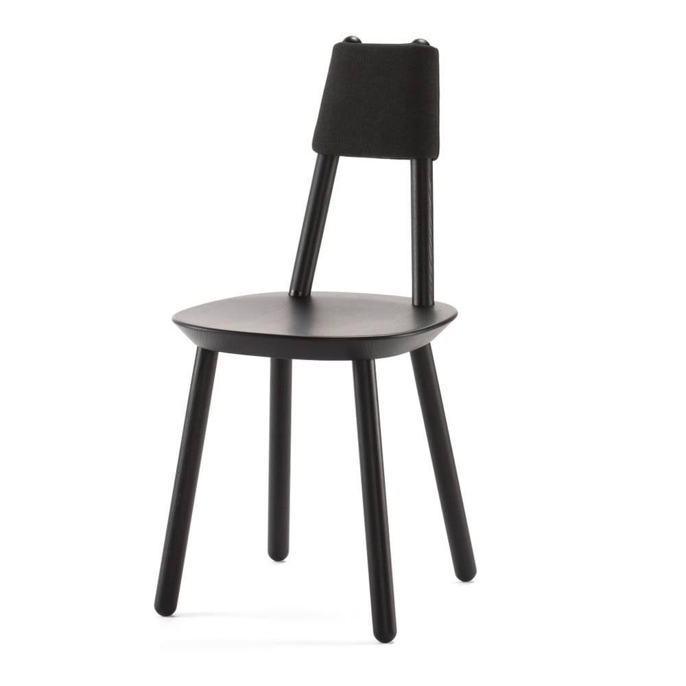 EMKO Čierna stolička z masívu EMKO Naïve