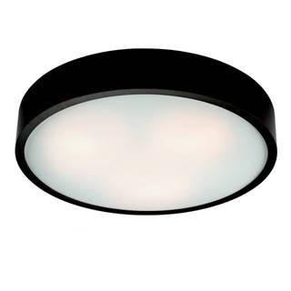 Čierne kruhové stropné svietidlo Lamkur Plafond, ø 47 cm