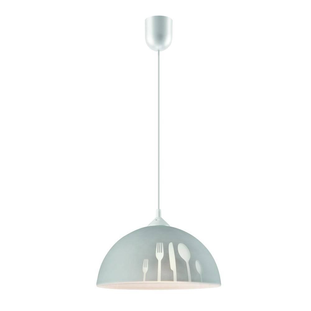 LAMKUR Sivé závesné svietidlo Lamkur Forks