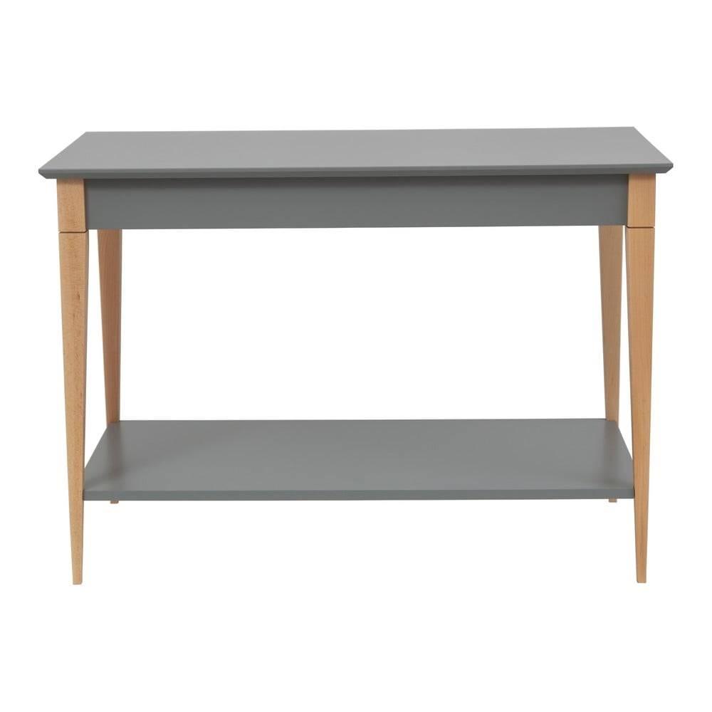 Ragaba Sivý konzolový stolík Ragaba Mimo, šírka 105 cm