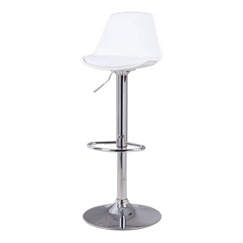 sømcasa Biela barová stolička sømcasa Nelly, výška 104 cm