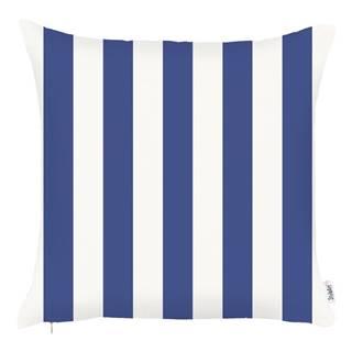 Modrá obliečka na vankúš Apolena Sail Stripes, 43 x 43 cm