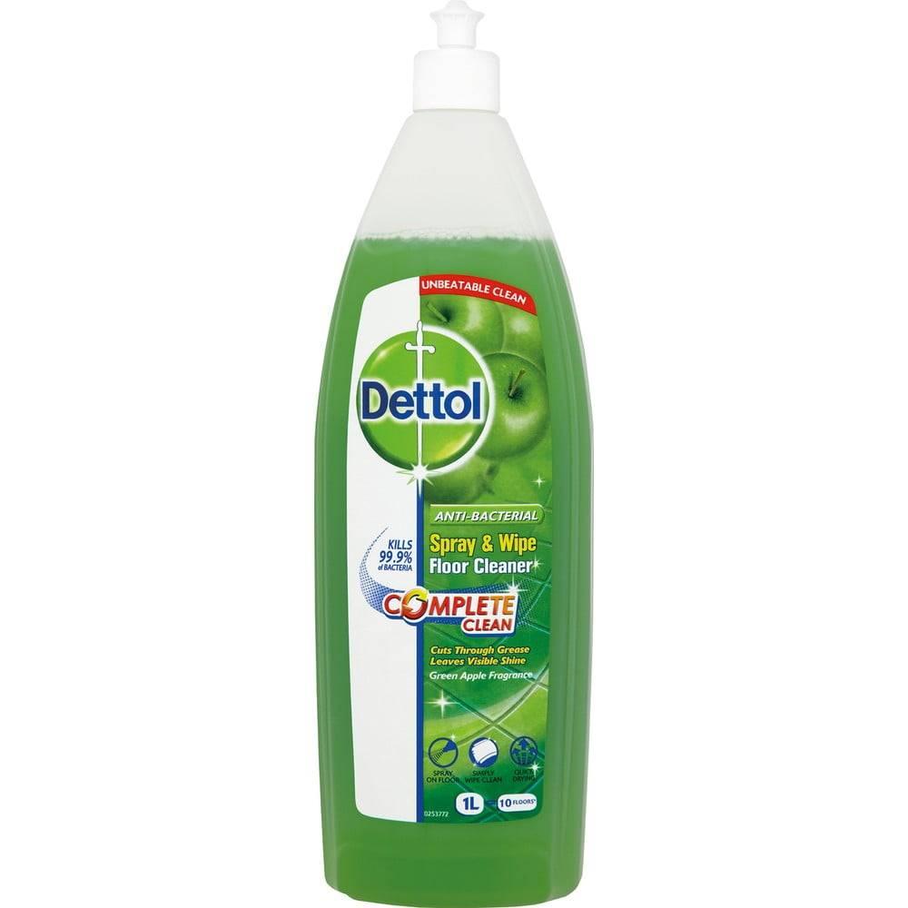 Bonami Antibakteriálny čistič podláh s vôňou zeleného jablka Dettol, 1 l