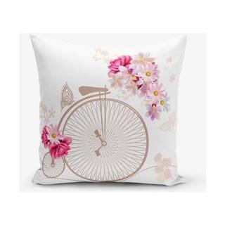 Obliečky na vaknúš s prímesou bavlny Minimalist Cushion Covers Vintage, 45 × 45 cm