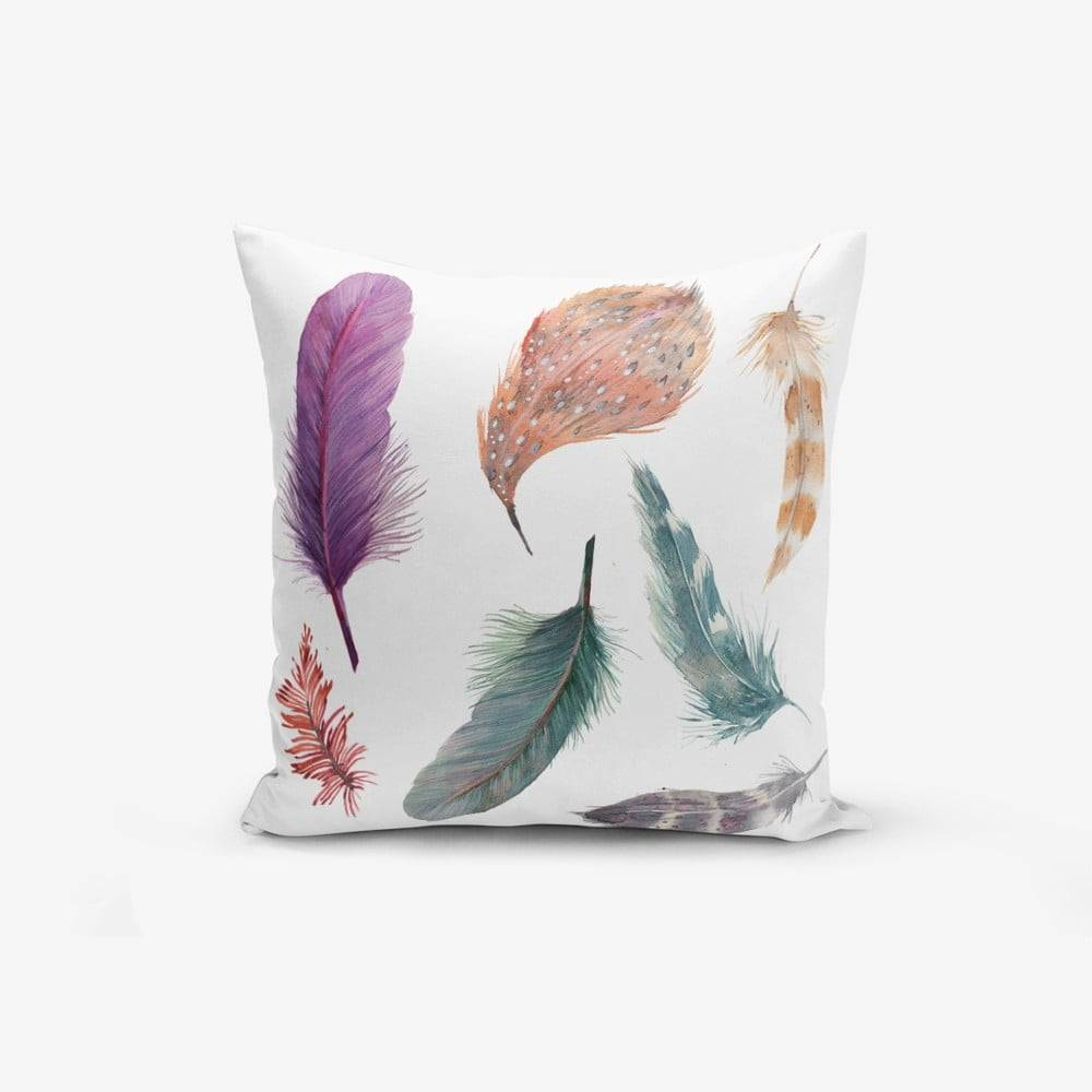 Minimalist Cushion Covers Obliečky na vaknúš s prímesou bavlny Minimalist Cushion Covers Cozy, 45 × 45 cm