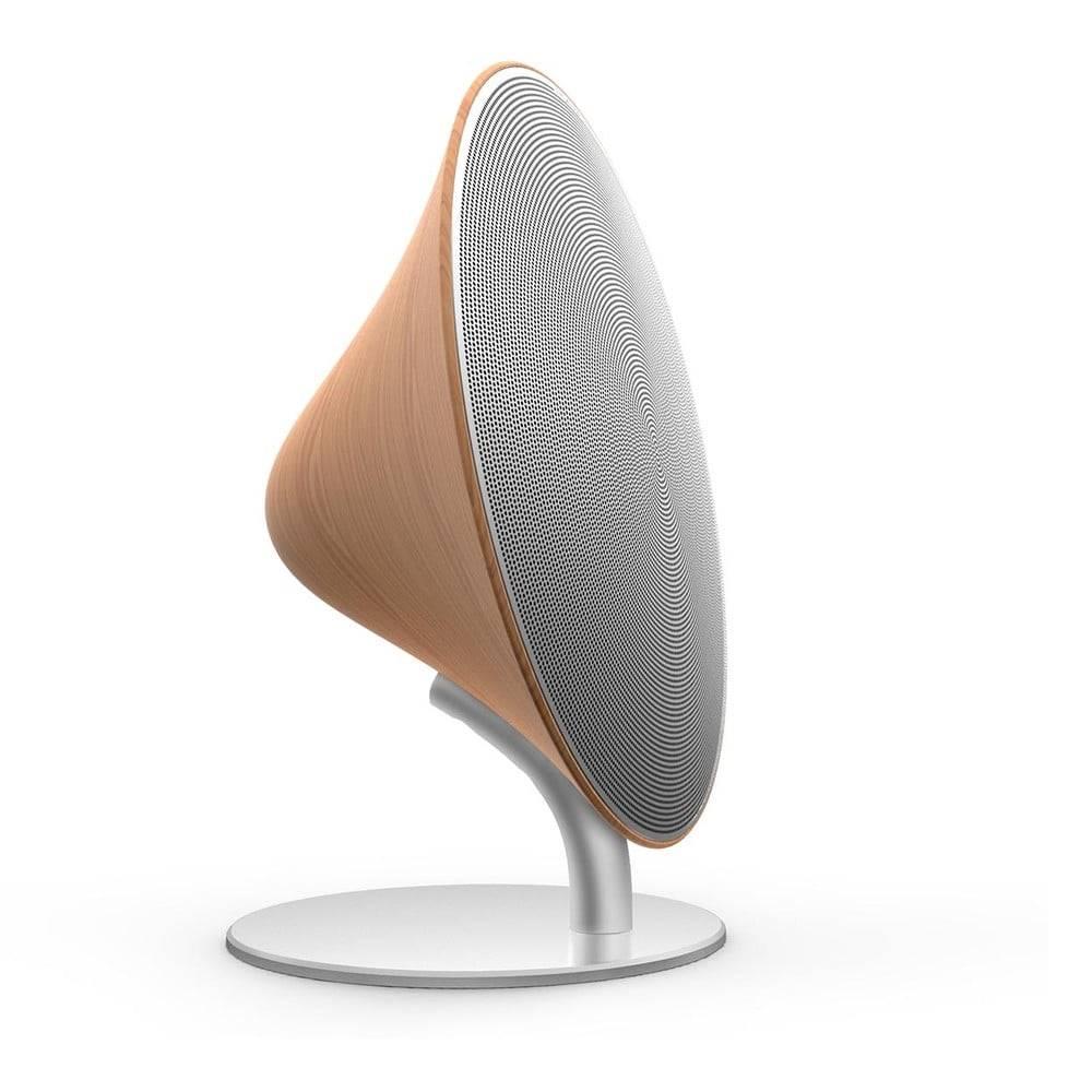 Gingko Bluetooth reproduktor s detailom z bukového dreva Gingko Halo One