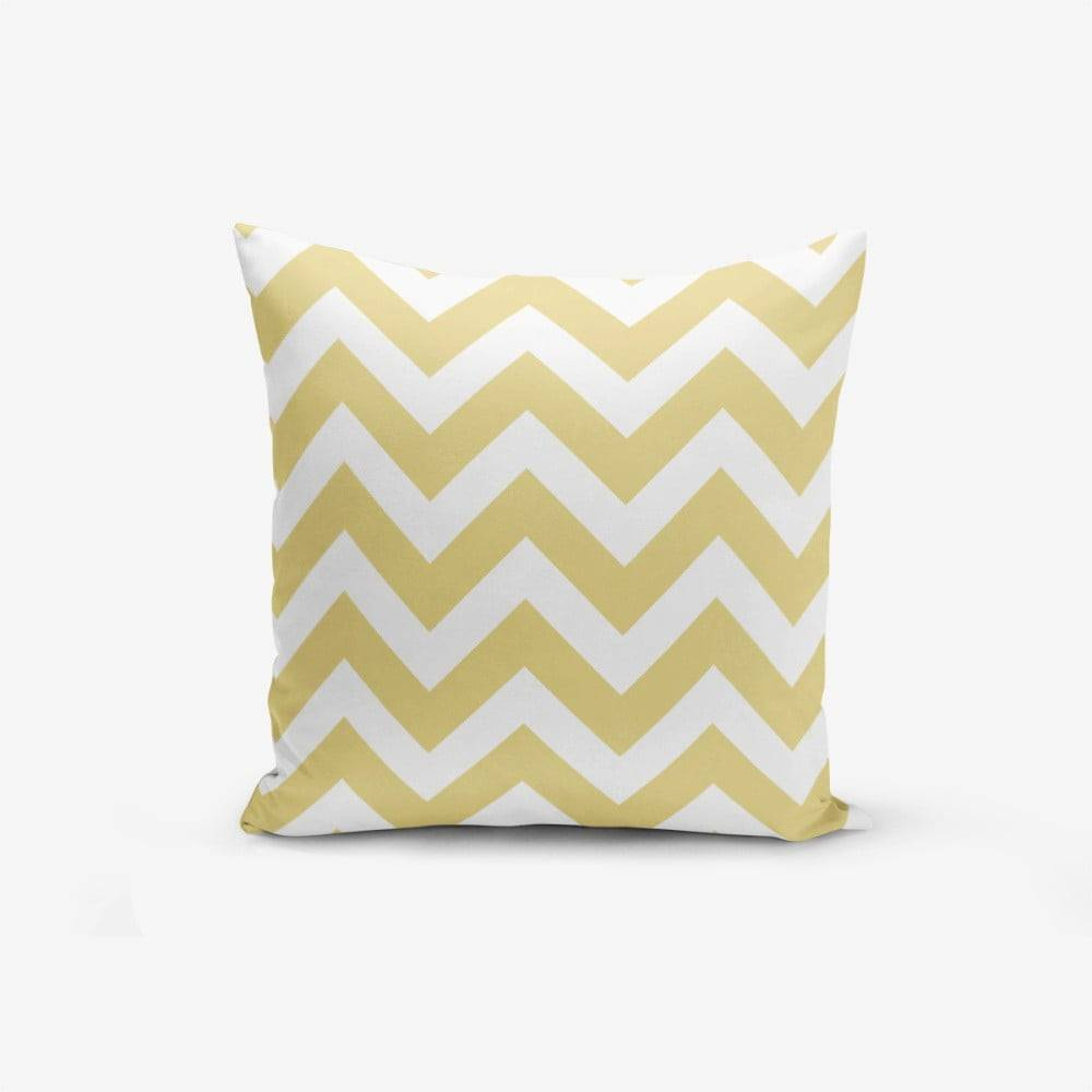 Minimalist Cushion Covers Obliečka na vankúš s prímesou bavlny Minimalist Cushion Covers Strippin, 45×45 cm