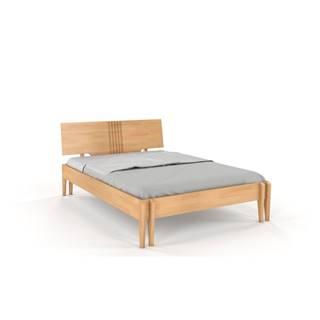 Dvojlôžková posteľ z bukového dreva Skandica Visby Poznan, 180 x 200 cm