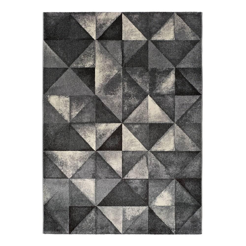 Universal Sivý koberec Universal Delta, 125 x 67 cm