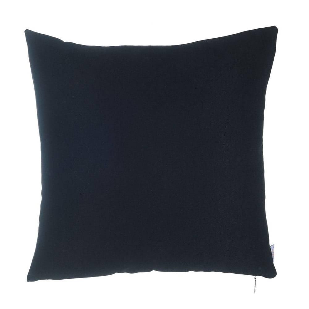 Apolena Čierna obliečka na vankúš Apolena Simple, 43×43 cm