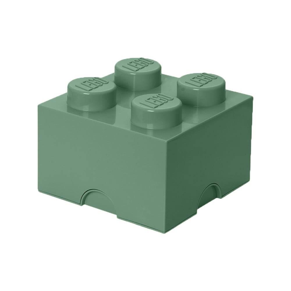 LEGO® Zelený úložný box štvorec LEGO®