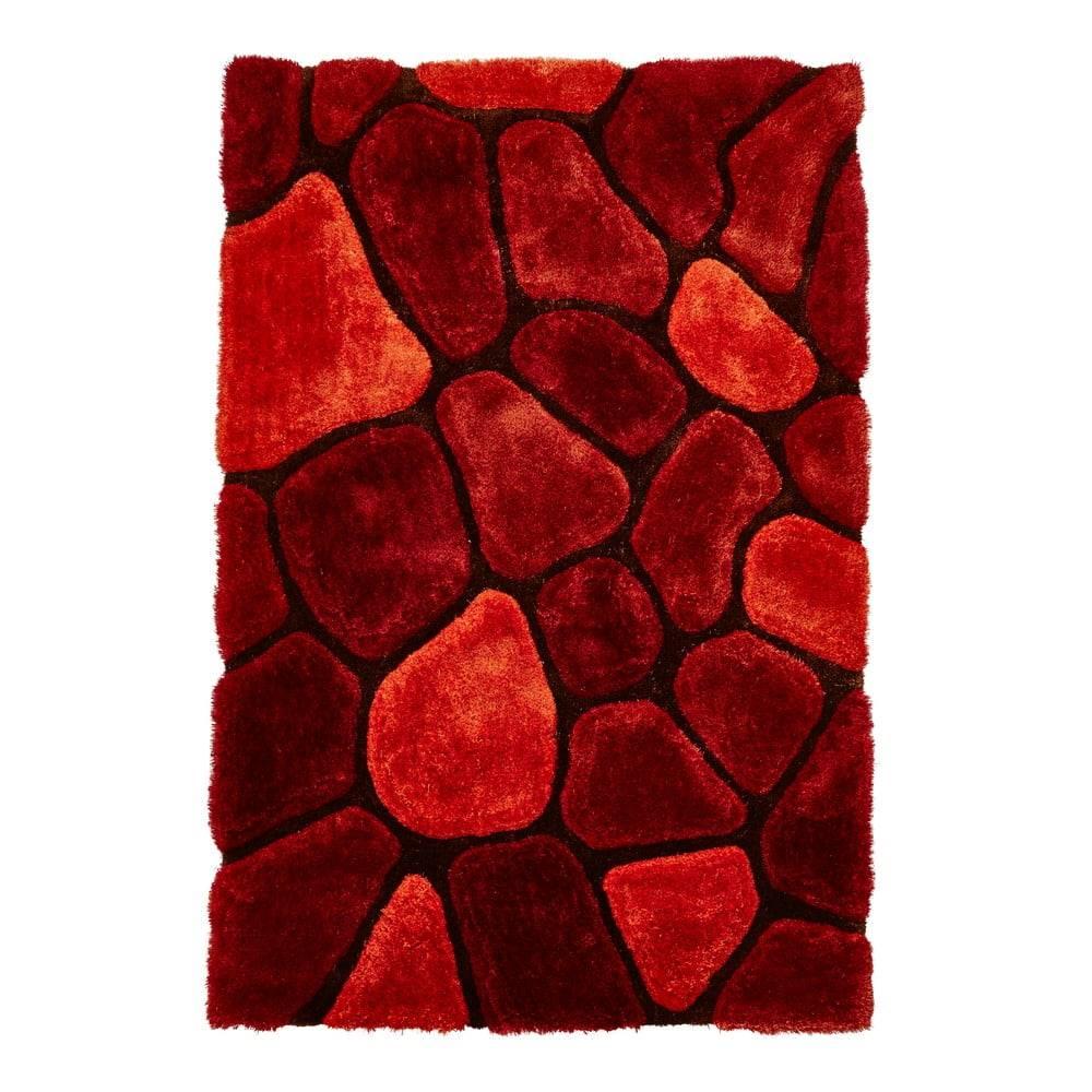 Think Rugs Oranžovo-červený koberec Think Rugs Noble House, 120×170