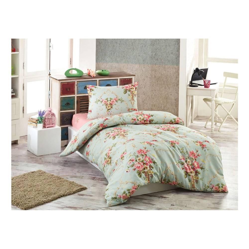 Eponj Home Obliečky na jednolôžko Puresso Ashley, 140×200 cm