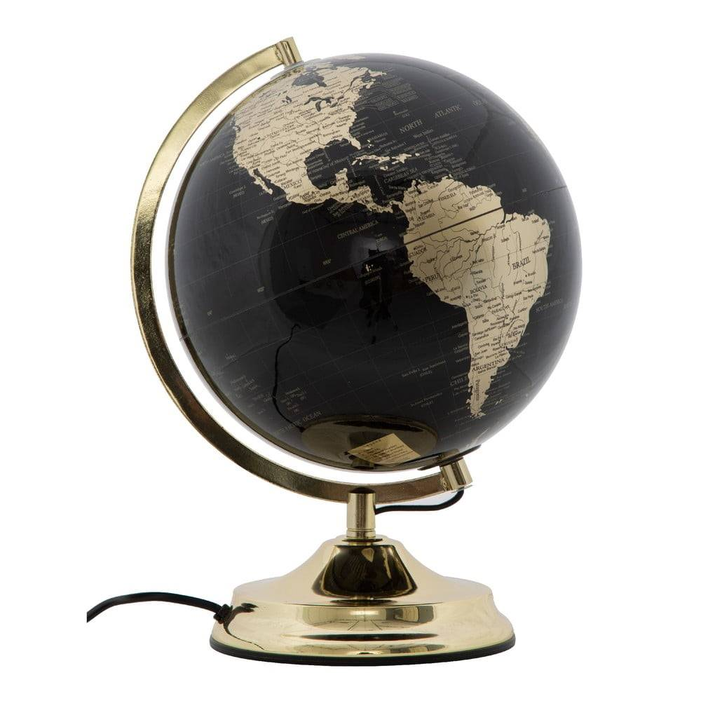 Mauro Ferretti Stolová lampa v tvare glóbusu Mauro Ferretti Globe, ø 25 cm