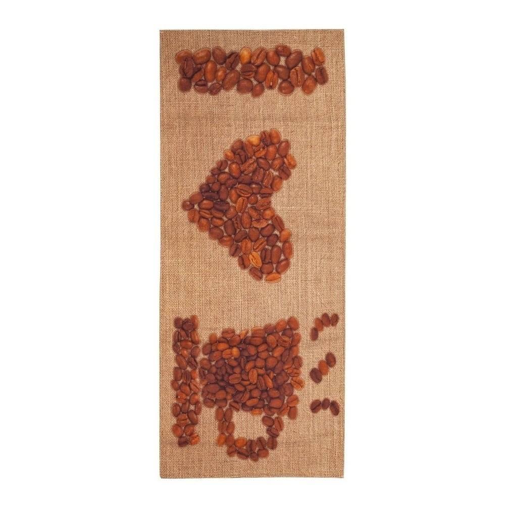 Floorita Behúň Floorita Love Coffee, 60 x 150 cm