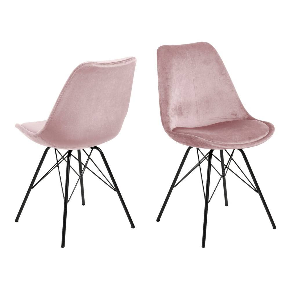 Actona Ružová jedálenská stolička Actona Eris